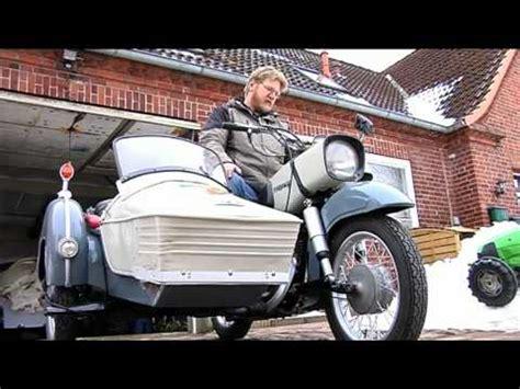 Diesel Motorrad Mz by Mz Diesel Gespann Doovi