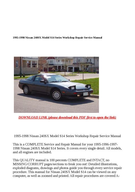 hayes auto repair manual 1995 nissan 240sx electronic throttle control service manual how to download repair manuals 1995 nissan 240sx windshield wipe control 1995