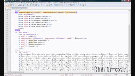tutorial javascript file javascript tutorial dropdown men 252 erstellen mit