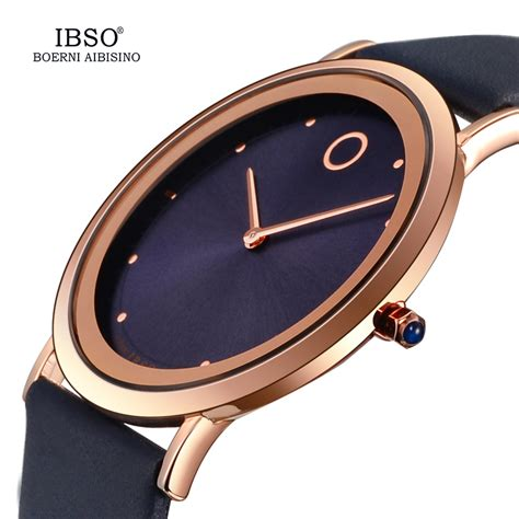Burch Watches Jam Wanita ibso jam tangan analog wanita ultra thin s8160l black