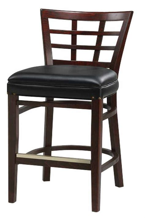 Commercial Counter Height Bar Stools by Regal Seating Series 2411 Window Pane Commercial Counter