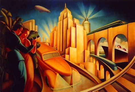 wallpaper retro art deco wallpapersafari