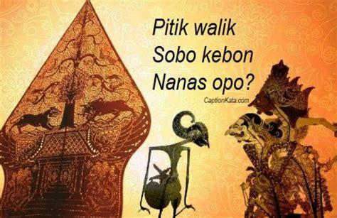 pantun jowo gokil terbaru kata kata bahasa jawa