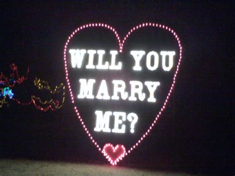 will you me signs in lights i m engaged ring and engagement