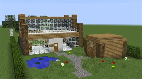 how to construct a house on a land of 25 40 minecraft how to build a land house youtube