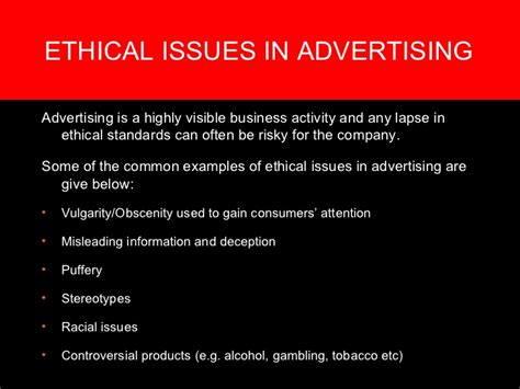 the ethical adman advertising in the pubic interest ethical issues in advertising