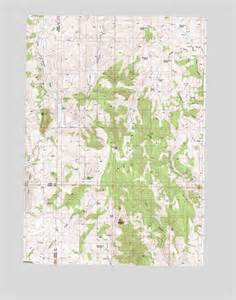 castle rock or topographic map topoquest