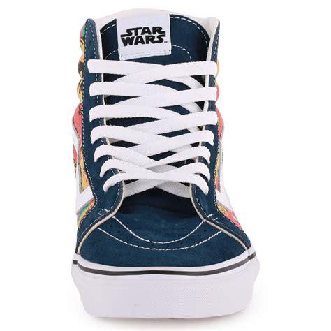 Jaket Vans Wars New Navy vans wars sk8 hi reissue womens navy floral trainers new shoes all sizes ebay