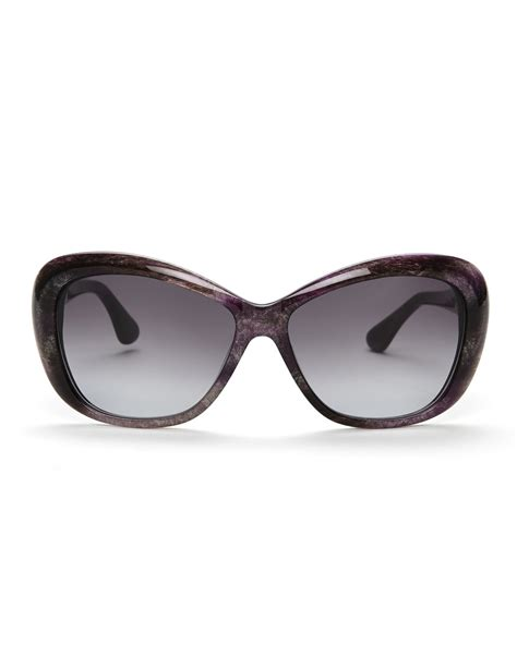 6 Gorgeous David Yurman Sunglasses by David Yurman Purple Printed Cat Eye Sunglasses In Purple