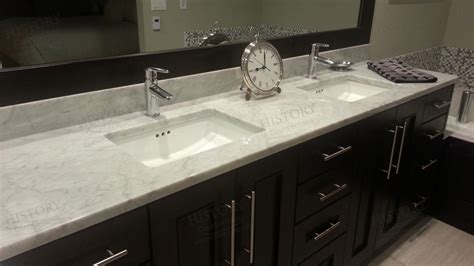 White Bathroom Vanity With Marble Top by Venata White Marble Bathroom Countertop White Bathroom