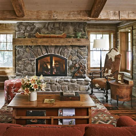rustic mantels traditional home