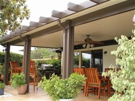 Retractable Roof Awnings Orange County Solid Patio Cover Wood Vs Aluminum Patio