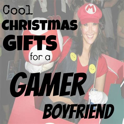 cool gifts for gamers gift ideas for gamer boyfriend giftsforhim