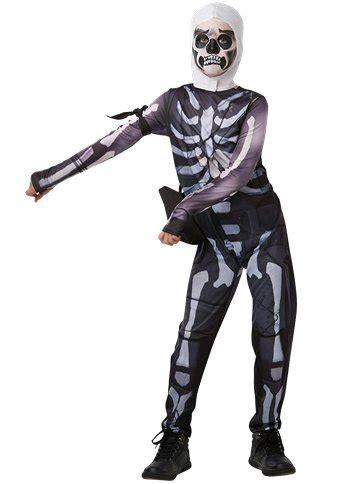 Fortnite Skull Trooper   Child & Teen Costume   Party Delights