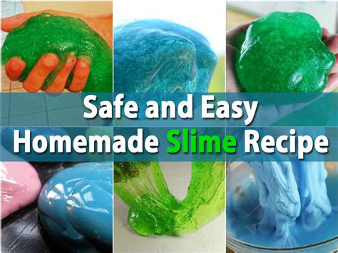 diy slime for will this safe and easy slime recipe diy crafts