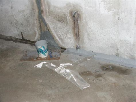 Sealing Cracks In Concrete Basement Floor by Epoxy Sealing Leaky Basements Options Repair
