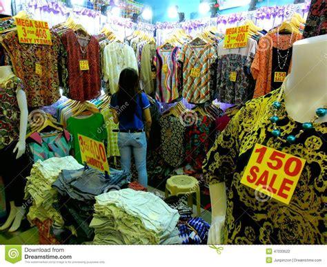 bazaar shops in greenhills shopping center editorial