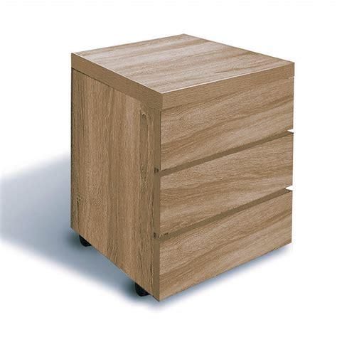 cassettiere su ruote cassettiera ufficio design moderno in legno su ruote kimmy