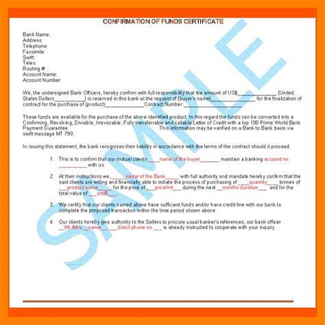 Agreement Letter For Bank 8 Bank Comfort Letter Sle Teller Resume