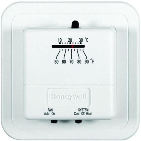 economy heat cool manual thermostat ct31a the home depot