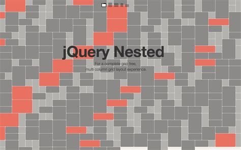 nested layout js build a complete gap free multi column grid layout with