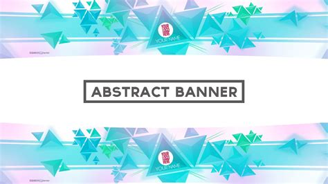 template pattern youtube epic abstract free banner template w speed art psd