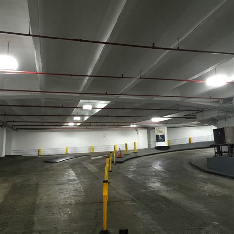 Parking Garages Downtown Houston by Downtown Houston Parking Garage Led Lighting By Spark Lighting