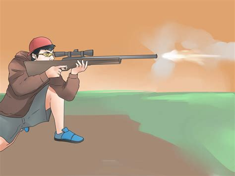 how to gun how to aim a bb gun with pictures wikihow