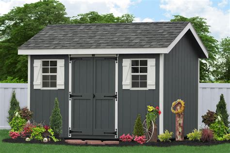 classic garden sheds from the amish in lancaster pa
