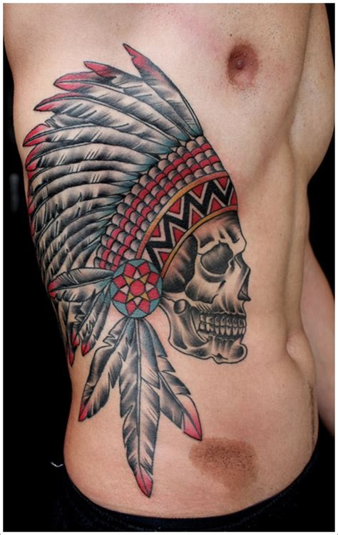 Native Pattern Tattoo | 40 native american tattoo designs that make you proud