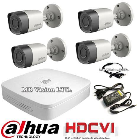 Cctv Dahua dvr kit with 4 hd security hd cvi bullet cameras dahua from category dvr kits cctv kits hd