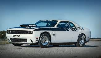 Dodge Challenger Drag Pack 2016 Mopar Dodge Challenger Drag Pak Gains Supercharged