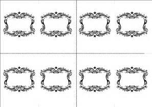 Table Cards Templates Luvecraft X Non Non Wedding Table Name Card Template