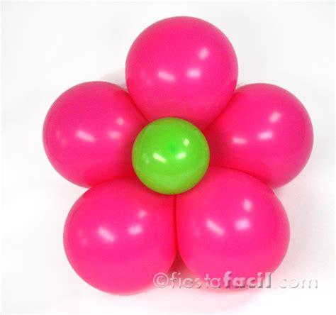 imagenes en columnas latex decoraci 243 n con globos una flor alegre revista fiestafacil