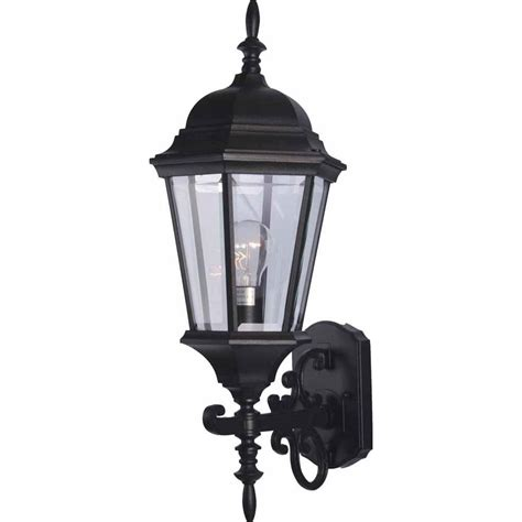 Outdoor Wall Lights Home Depot World Imports Sutton Collection 1 Light Rust Outdoor Wall Sconce Wi910542 The Home Depot