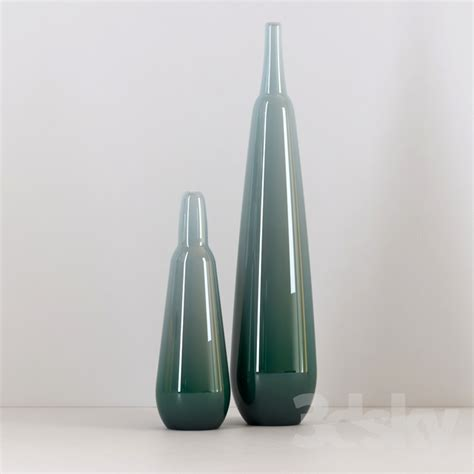 colored vases 3d models vase colored glass vases