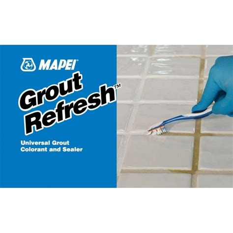 mapei grout refresh universal grout colorant and sealer in silver 11 mp grtrefresh 27 11 mp