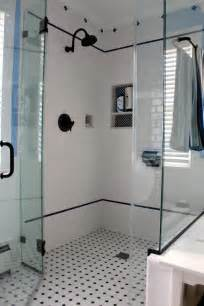 bathroom floor tile design ideas 30 ideas for using subway tile in a shower