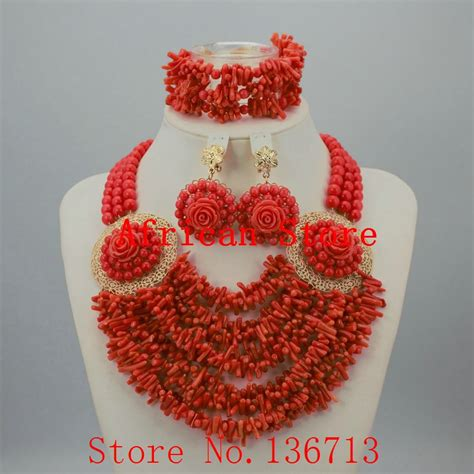 nigerian bridal bead necklaces 50 pictures latest designs online buy wholesale coral beads necklace designs from