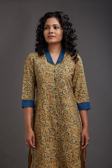 kurta button pattern rania collar kurta kurti pinterest kurti kurtis and