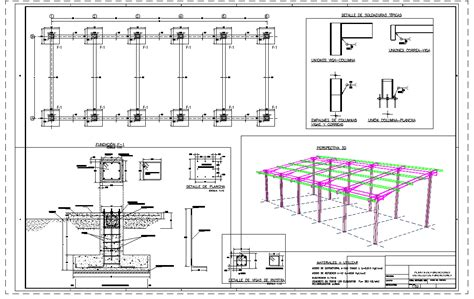 structure shed  autocad cad   mb bibliocad