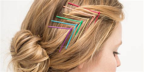 colored bobby pins 15 gorgeous hairstyles you can easily create with colored