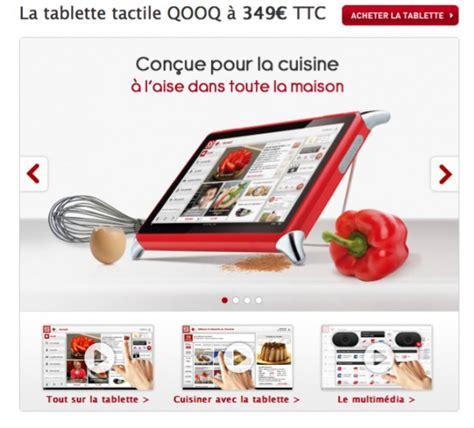 tablette tactile cuisine la tablette tactile pour cuisine 100 images tablette