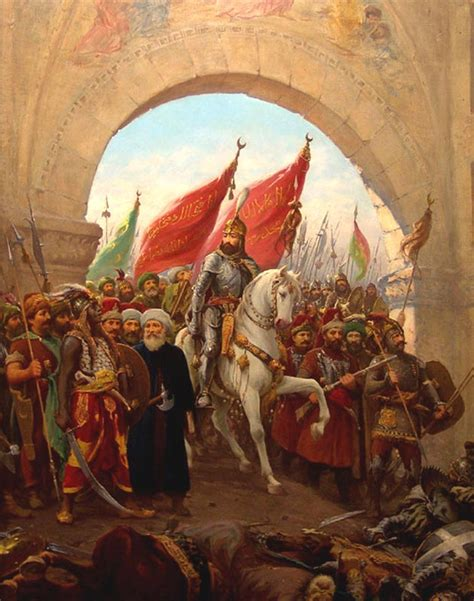ottoman constantinople today in history 11 april 1453 ottoman canons collapse