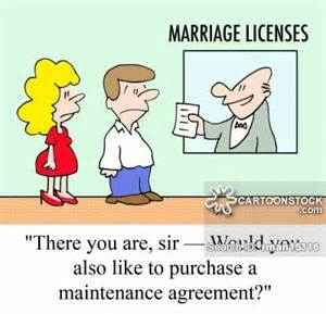 Marriage license cartoons and comics funny pictures from