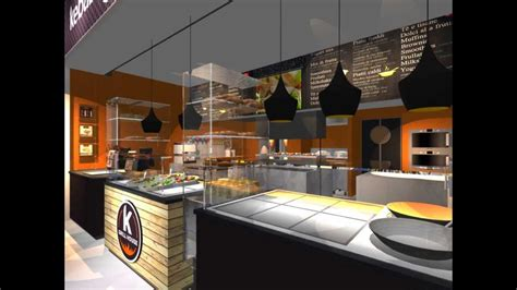 Kitchen Design Shops kebab grill house concept design by 23bassi youtube