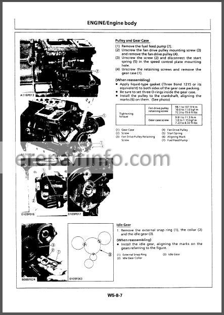 Hitachi EX8-2B Workshop Manual Excavator – eRepairInfo.com