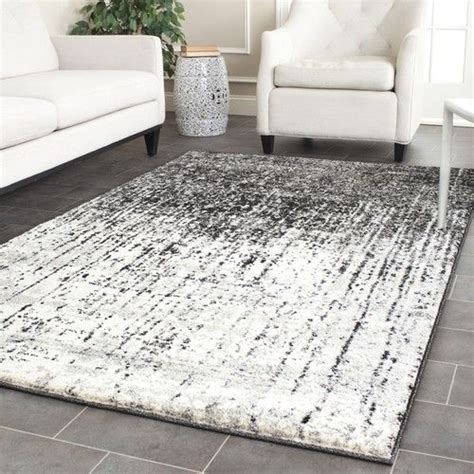 black and gray area rug safavieh retro black grey area rug 8 9 x 12 ret2770