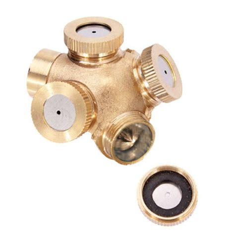 Sprinkler Spray Nozzle Air Irigasi Taman Copper 4 Holes sprinkler spray nozzle air irigasi taman copper 4 holes copper jakartanotebook