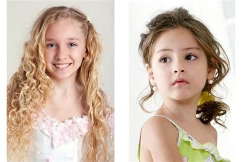 cute hairstyles for long hair for kids and for 8 year oldsfor short hair cute hairstyles as party hair for girls children